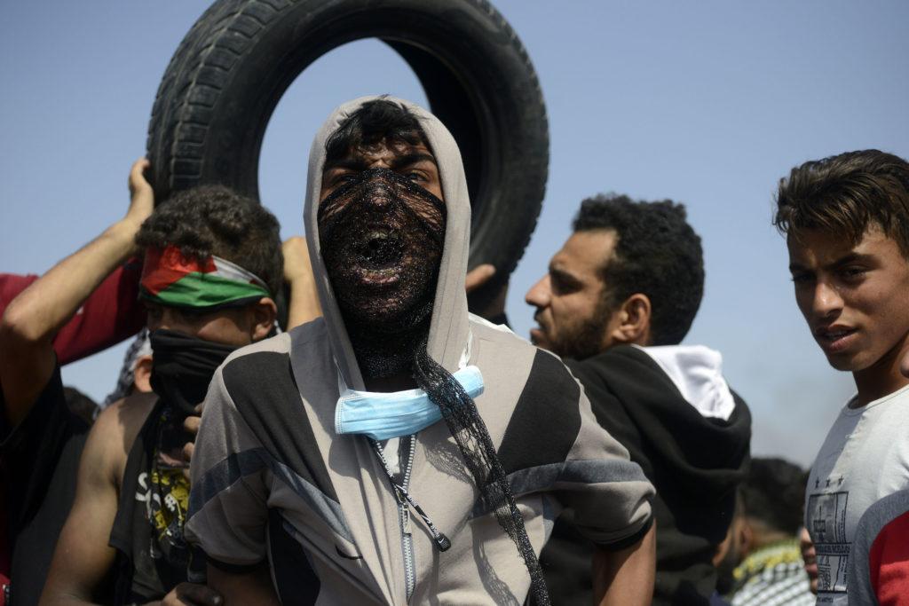 Grande marche du Retour, Bande de Gaza • 11 mai 2018 • Mohammed Zaanoun / Activestills.org