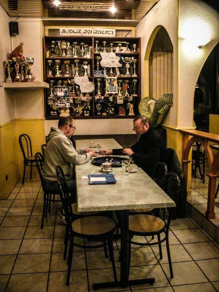 Villefranche-de-Rouergue, café de la gare