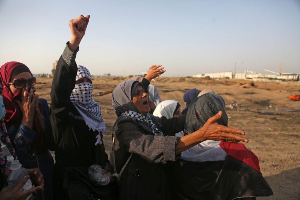 Grande marche du Retour, Bande de Gaza • 18 mai 2018 • Mohammed Zaanoun / Activestills.org