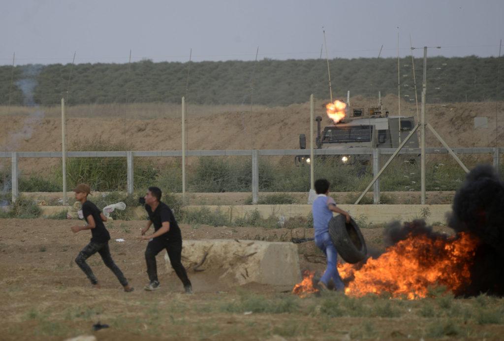Grande marche du Retour, Bande de Gaza • 1er juin 2018 • Mohammed Zaanoun / Activestills.org