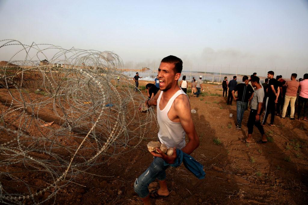 Bande de Gaza Est, près de Shujayia • 25 mai 2018 • Mohammed Zaanoun / Activestills.org